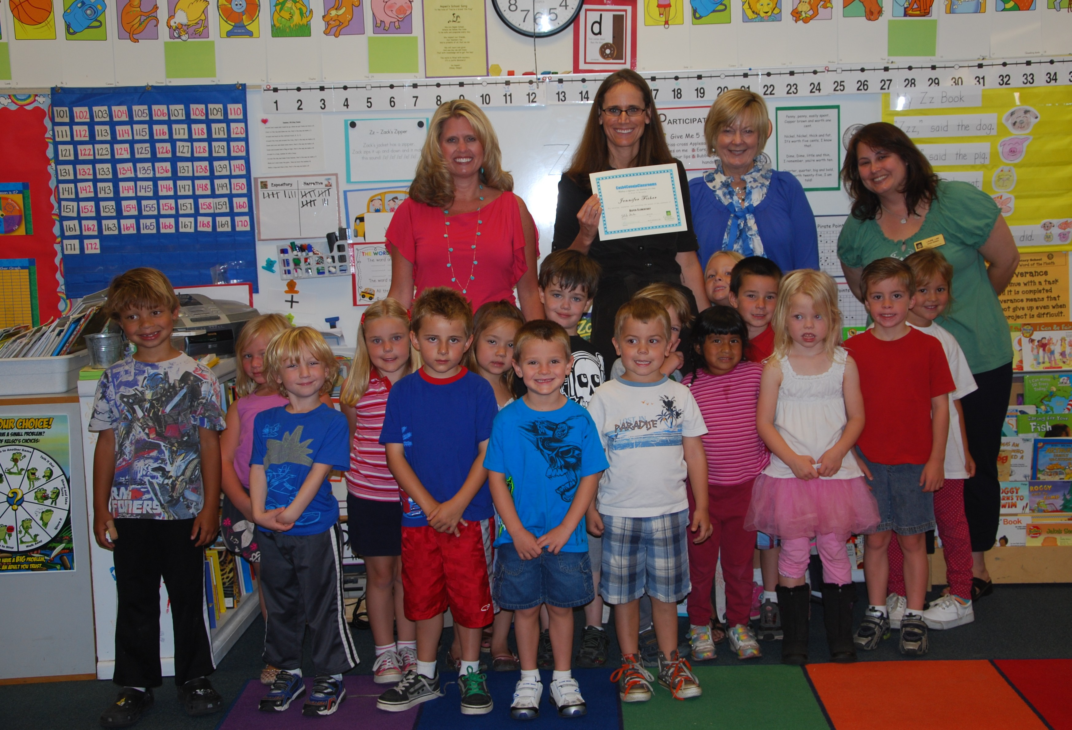 Worksheet Kindergarten Elementary School jr kindergarten cash 4 conejo classrooms and at acacia elementary school junior teacher mary beth stovall received a grant for her class