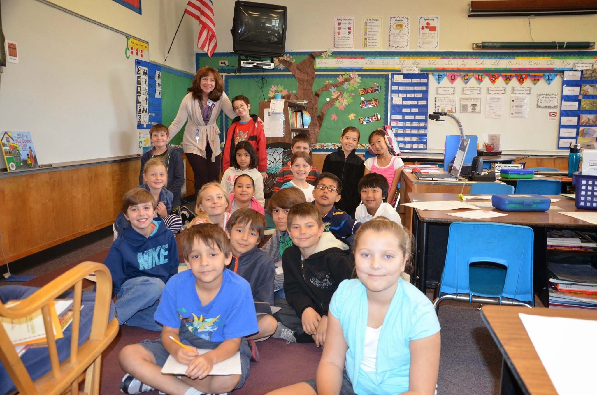 Elementary Classroom ~ Cash conejo classrooms making a difference one